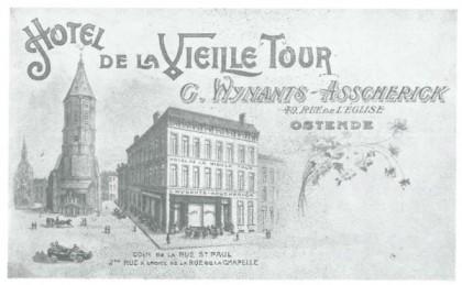 Asscherick hotel postcard