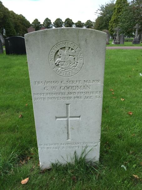 Goodman, G W grave