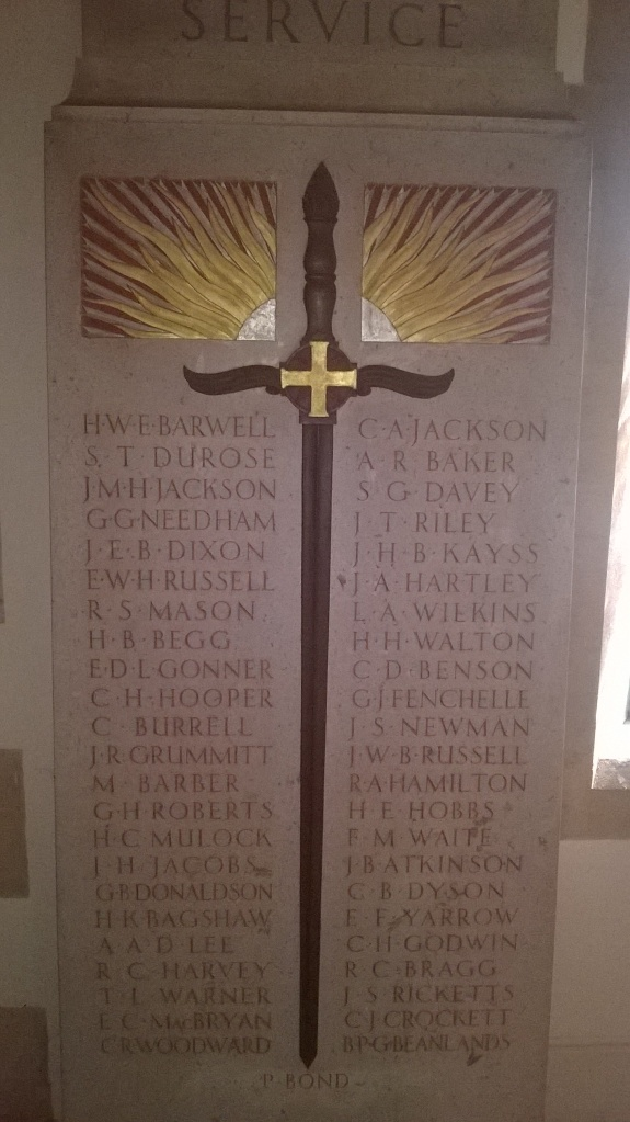 Oundle school memorial - CREDIT