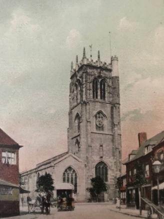 St Margarets Church postcard