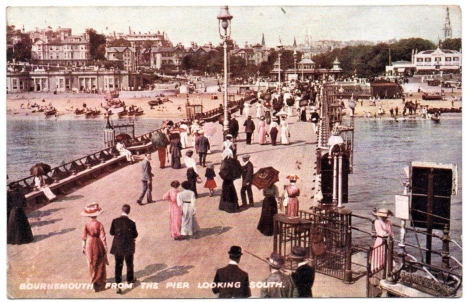 Bournemouth postcard